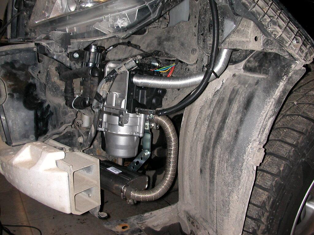 Toyota LC 150 - Webasto