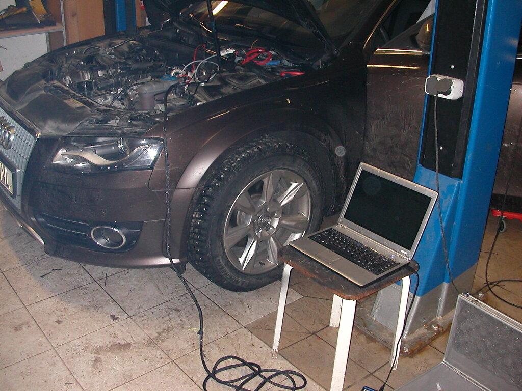 Audi A4 Allroad - Webasto
